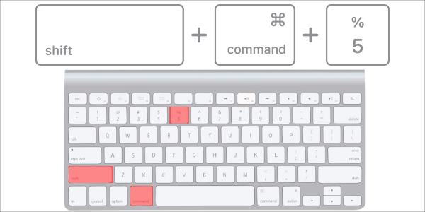 mac スクリーン ショット