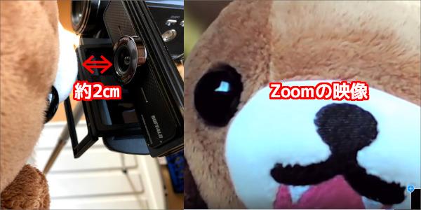zoom WEB カメラ